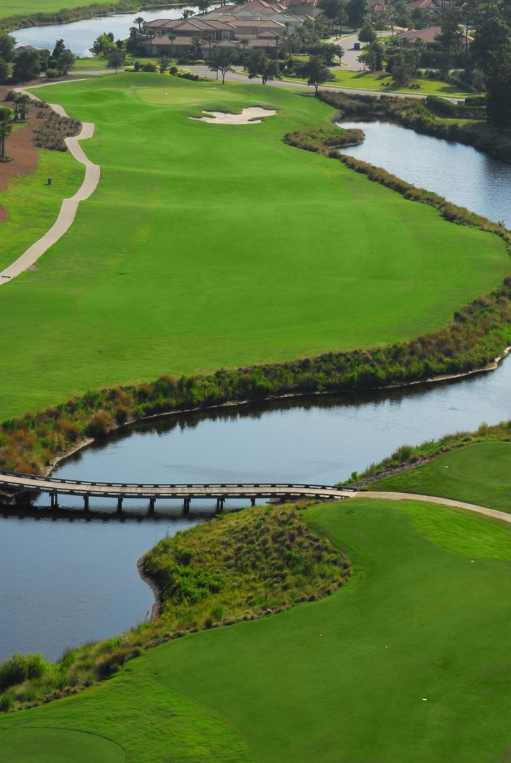 Grande Dunes Golf Course in Myrtle Beach Hole number 1
