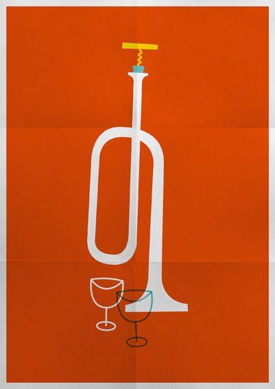 Nancy Jazz Pulsation #40 - Simon Sek / Illustration / Design graphique by Simon Sek