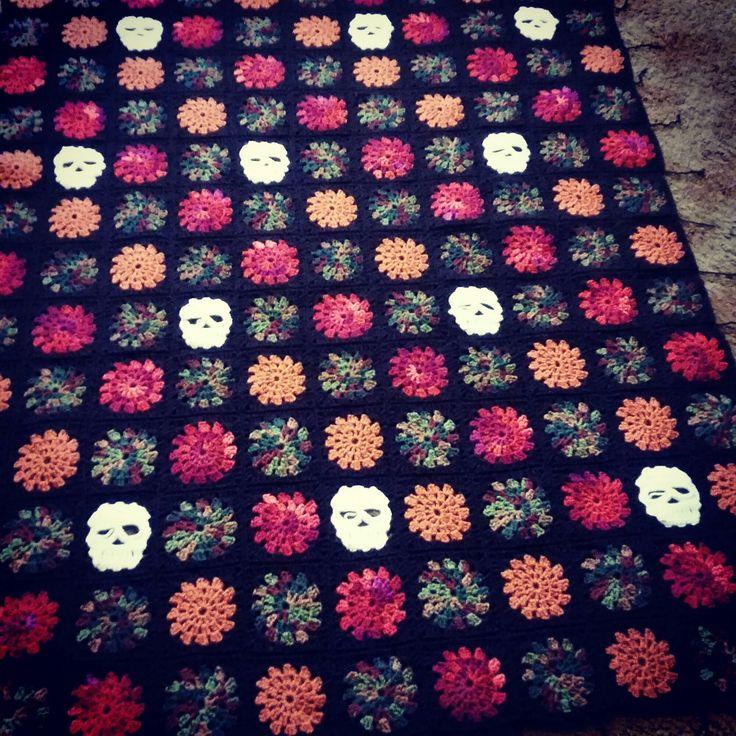 Crochet granny square blanket crochet Pinterest ...