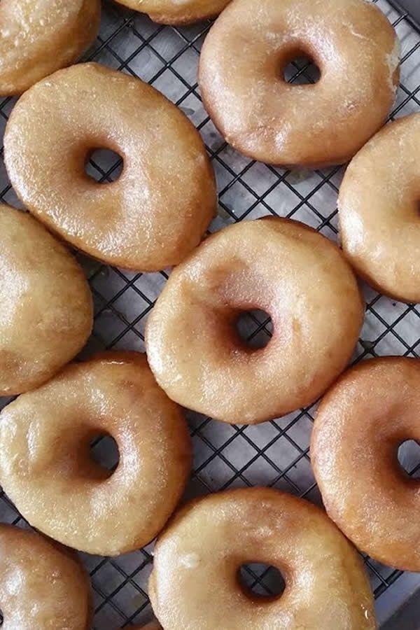 Vegan Donuts Recipe Krispy Kreme Copycat Recipe Vegan Krispy Kreme Donuts Glazed Doughnut Recipe Vegan Donuts Vegan Donut Recipe Vegan Doughnuts