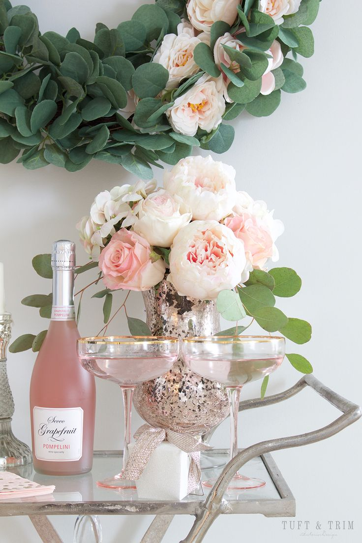 Pretty in Pink :Valentines Day Barcart Blog Hop with Tuft & Trim