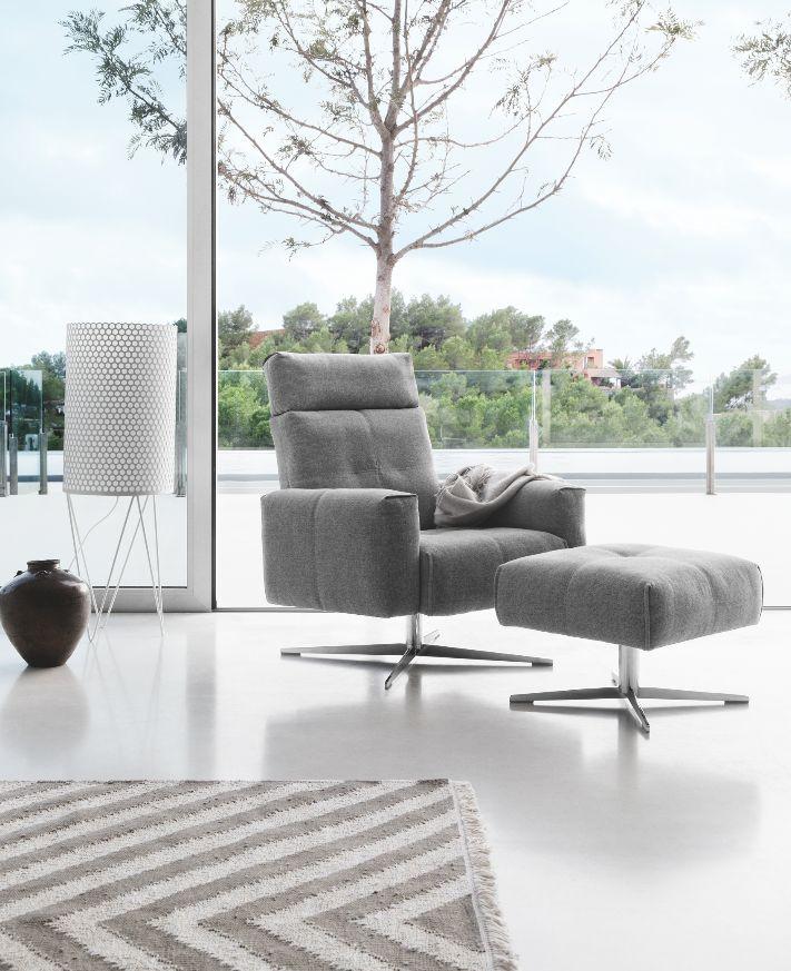 Rolf Benz | 50 | Fauteuil #Fabric #Grey #color #Modern #RolfBenz #Design #kokwooncenter #201605