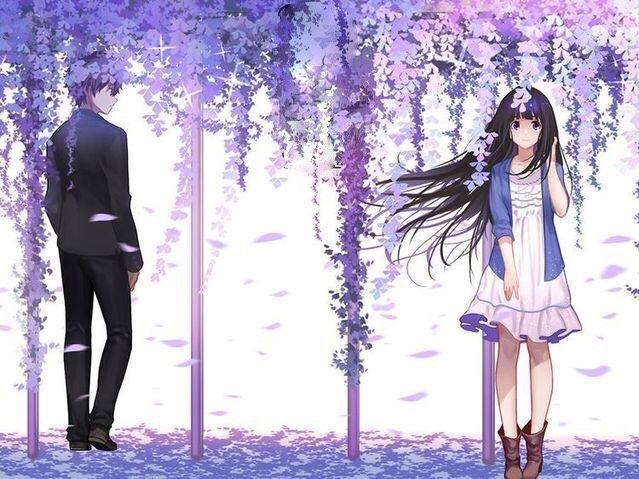 Pin By Milyn On Hinh Edit Anime Hd Anime Hyouka