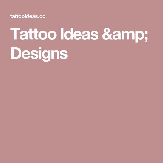 Tattoo Ideas & Designs