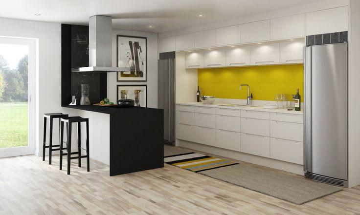 A la Carte -keittiöt Scuro. Niemeke keittiö   #keittiö #kitchen