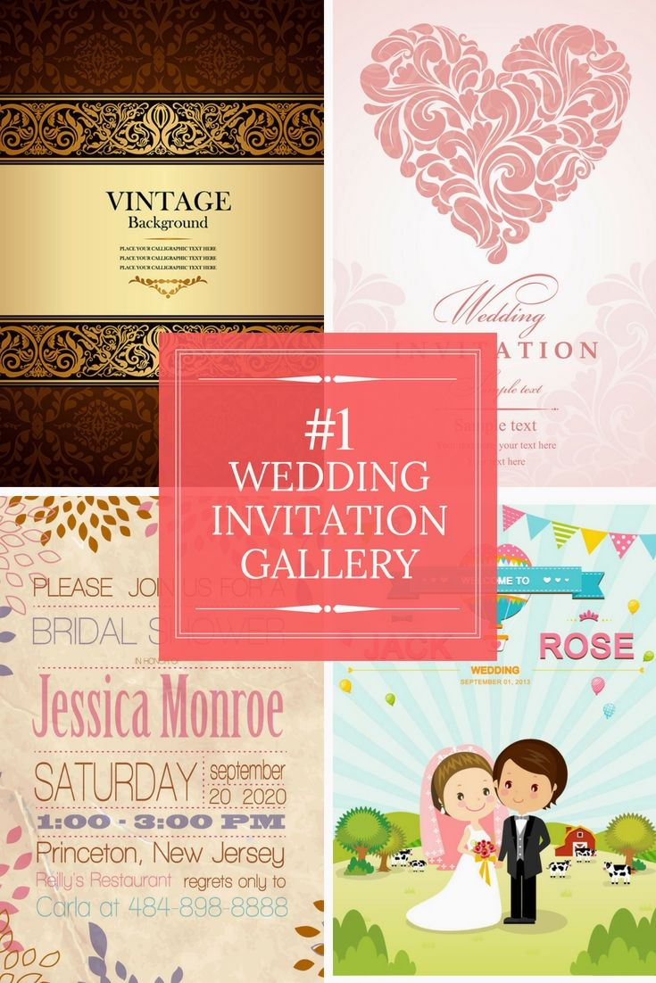 Free Wedding Invitation Cards Samples - Go Preparing Your Wedding ...