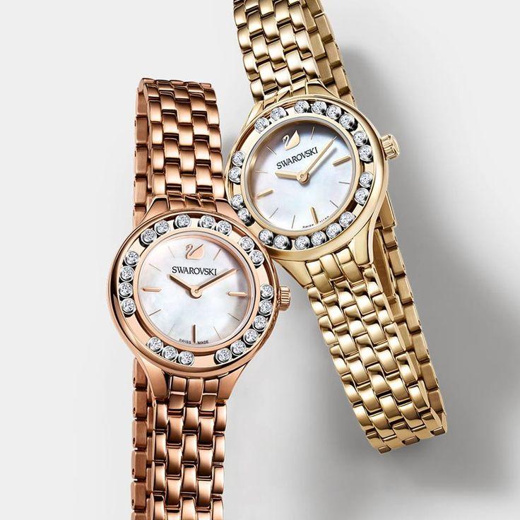 I Mini Watch Lovely Crystals prendono in prestito la maglia intrecciata dagli orologi maschili rendendo i tuoi look davvero cool!