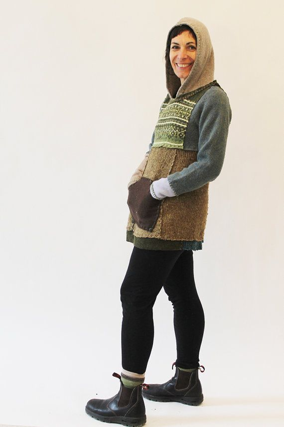 Skinny Pullover Sweater with Bell Hem by Crispinaffrench on Etsy, $225.00