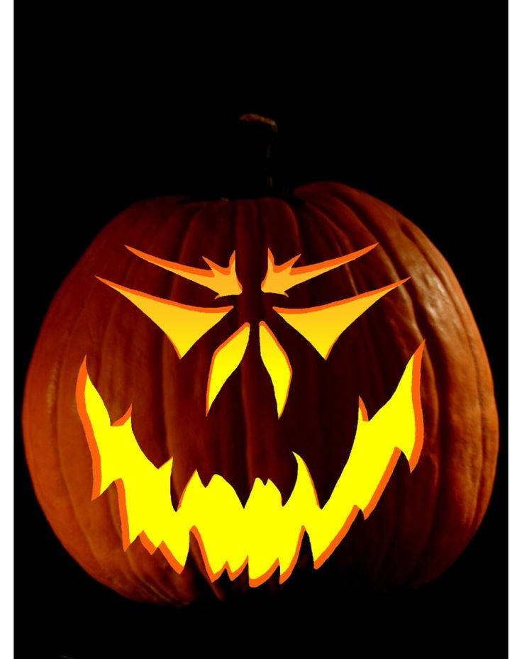 Best 25 scary pumpkin faces ideas on pinterest scary for Simple pumpkin stencils