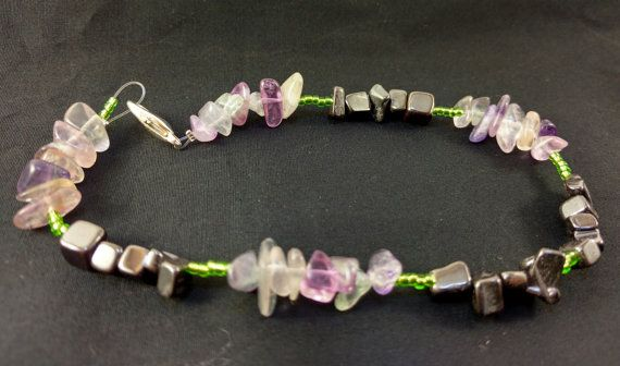 Grounding Anklet by CrystalRx on Etsy
