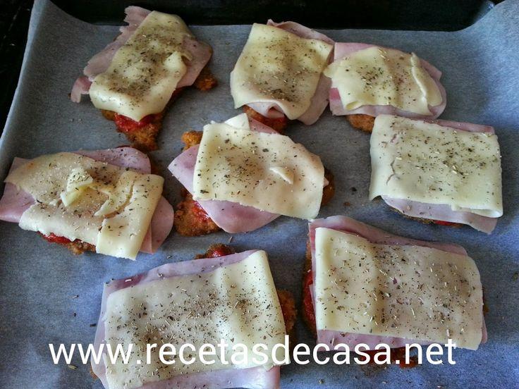 Milanesas a la napolitana - COCINA FÁCIL - La cocina de Pedro y Yolanda