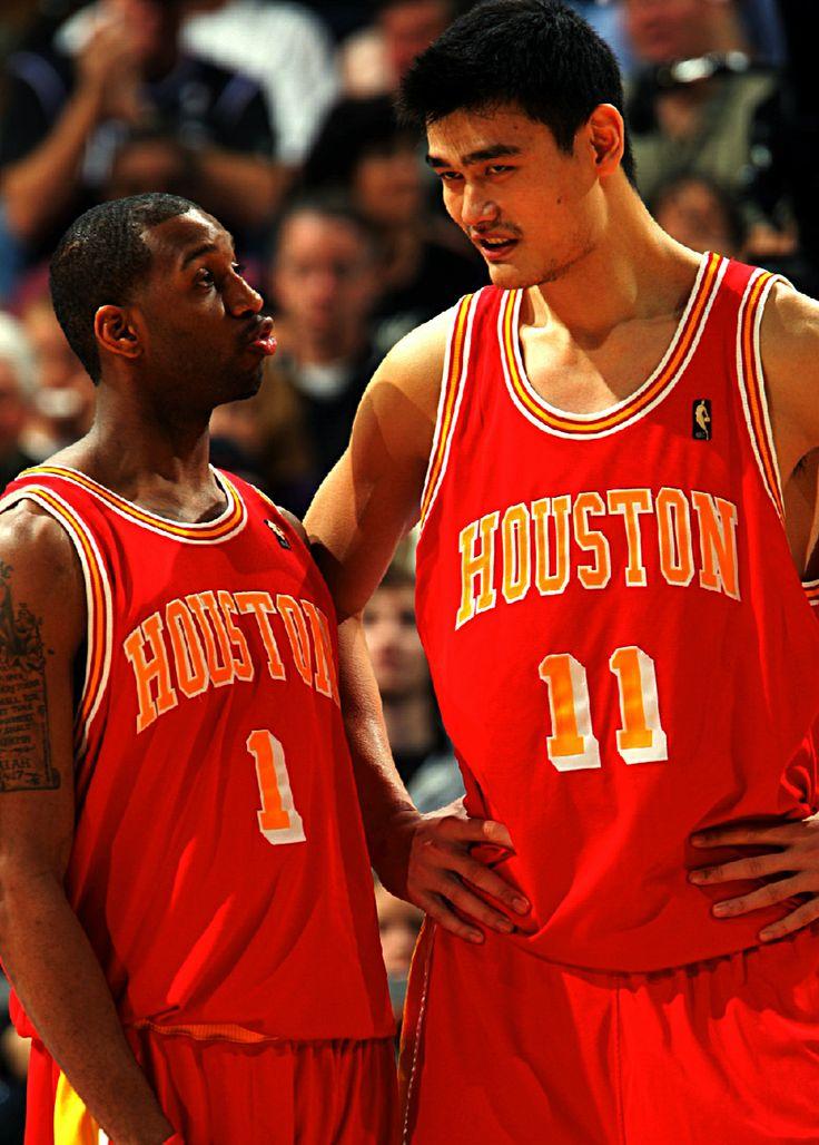Tracy McGrady & Yao Ming