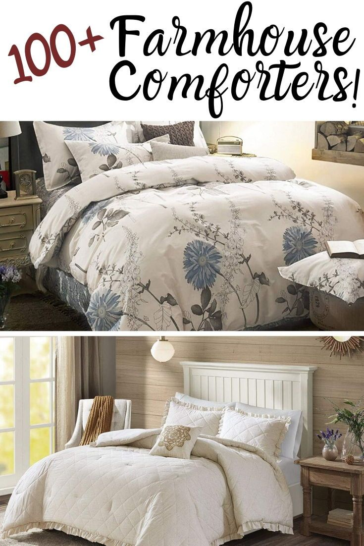 Farmhouse Comforters Rustic Comforters Farmhouse Goals In 2020 Farmhouse Bedding Sets Bedroom Comforter Sets Cabin Duvet