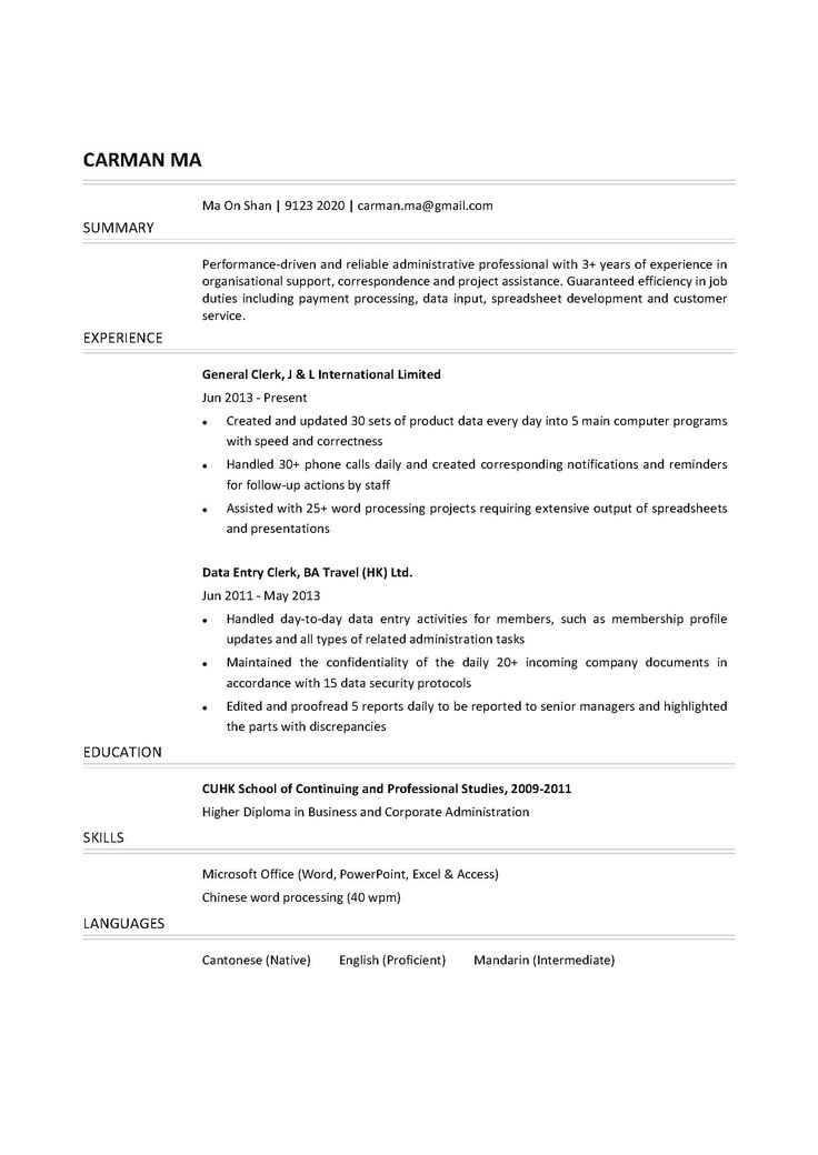 resume examples perfect infographic templates how write samples word file good