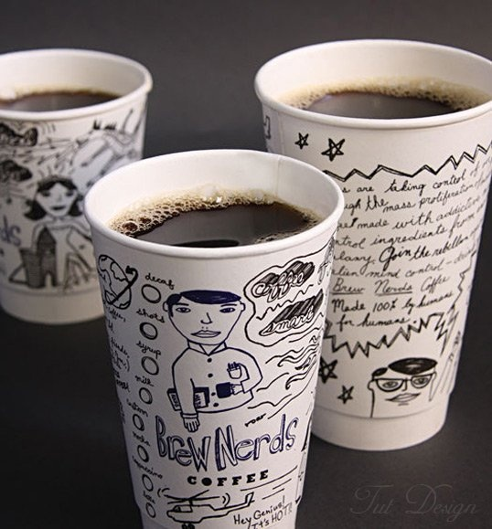 Brew Nerds Coffee  -   Designed by Mitre Agency | Country: United States