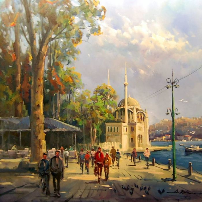 Ortaköy Cami www.tablomerkezi.com700 × 700Buscar por imagen Büyütmek için resime tıklayın Ressam - Buscar con Google