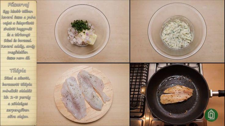 Chefbag - Kukoricás tilápia tárkonyos fűszervajjal recept