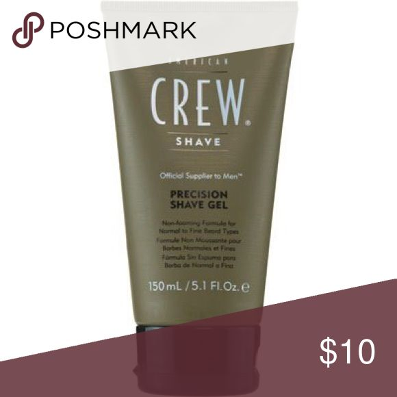 American Crew men's Shaving Gel For fine/normal American Crew men's Shaving Gel For fine/normal hair American Crew Other