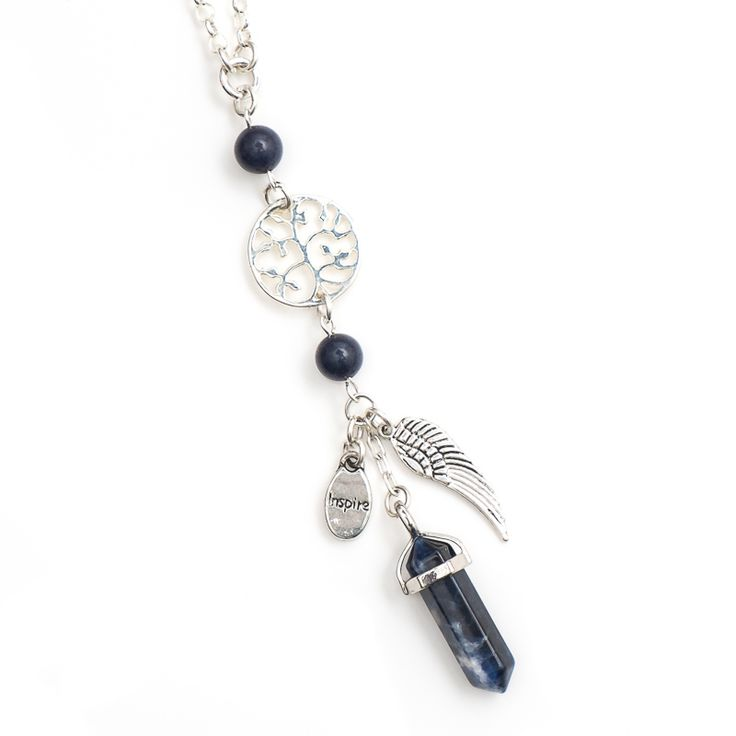 xada jewellery - Crystal point charm necklace , $39.95 (http://www.xadajewellery.com/shop-by-collection/crystal-point-charm-necklace/)