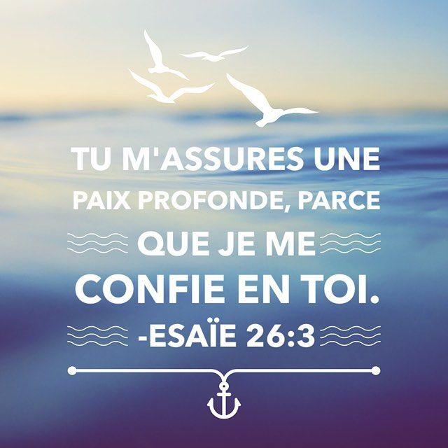 Place toujours ta confiance en l'Éternel, car l'Éternel est le #rocher de toute éternité. (v. 5) #versetdujour