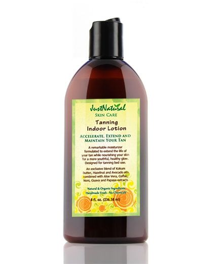 Natural Tanning Indoor Lotion - Helps & Support Skin