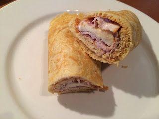 Koolhydraatarme recepten: Wrap met fricandeau en brie