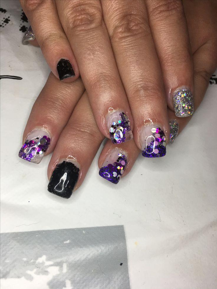 Beautiful in purple bling!