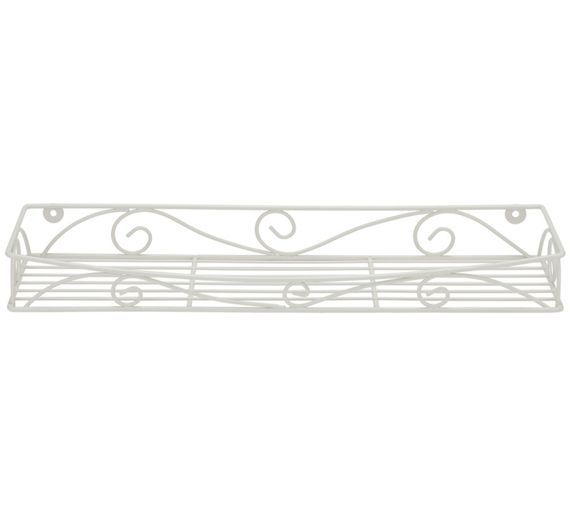 Buy Collection Wire Bathroom Accessory Rack - Cream at Argos.co.uk, visit Argos.co.uk to shop online for Bedroom and bathroom furniture, Clearance Home and garden, Home and garden