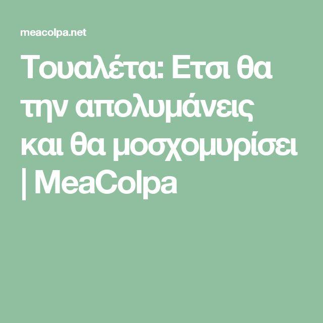 Τουαλέτα: Ετσι θα την απολυμάνεις και θα μοσχομυρίσει | MeaColpa