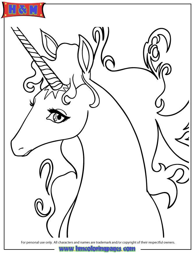 Rainbow Unicorn Drawing Coloring Page | Free Printable ...