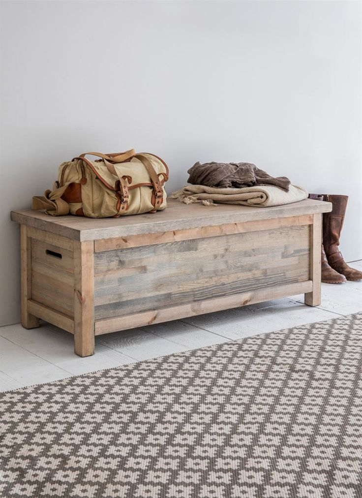 With its rustic charm and ample storage the Aldsworth Hallway Bench Box is perfect for keeping the home organised and clutter free. Crafted from FSC Spruce from sustainable sources in Europe, the storage box comes with a light grey wash and allows the natural wood grains to show through.