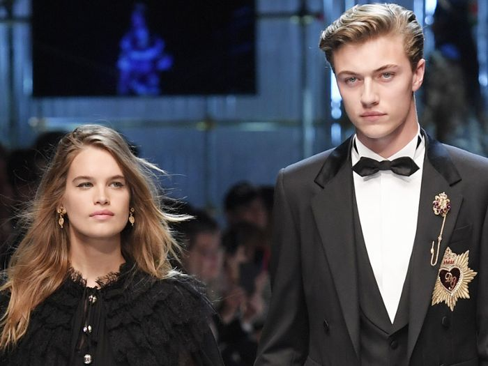 Lucky Blue Smith and Stormi Bree have welcomed their new baby—find out the super unique name.