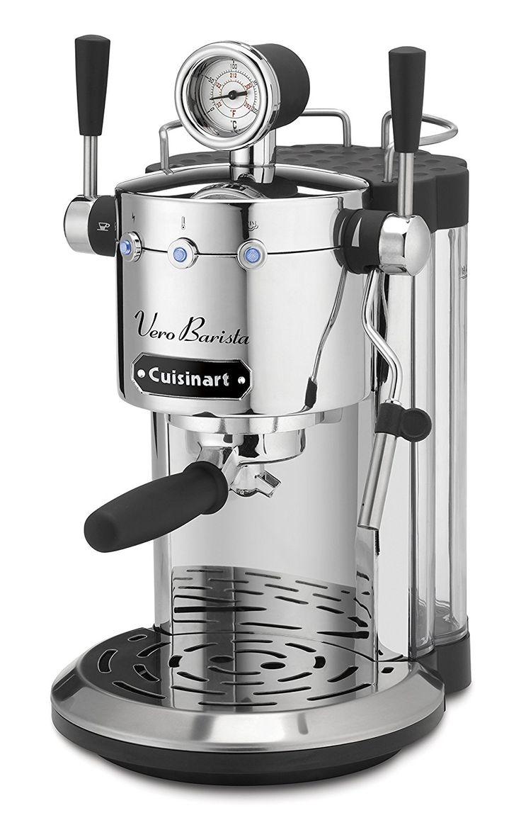 how to clean a cuisinart espresso machine