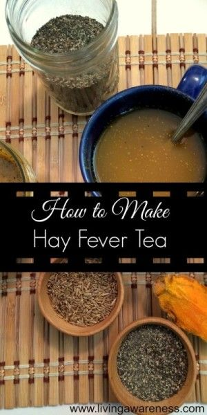 Today we are going to roll out a couple of common spices to help with hay fever; the spring allergies that I see so many people suffering with right now. http://livingawareness.com/quick-and-easy-hay-fever-remedy/