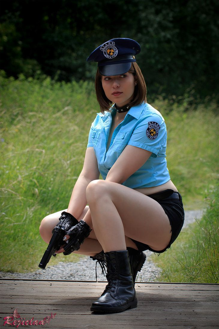 Jill Valentine Resident Evil / Biohazard Deadly Silence cosplay I by Rejiclad
