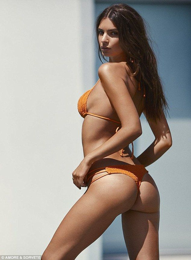 'Do you have a body? Then you're swimsuit ready!' Model Emily Ratajkowski talks body-positivity as she models barely-there bikinis in her very first swimwear campaign | Daily Mail Online