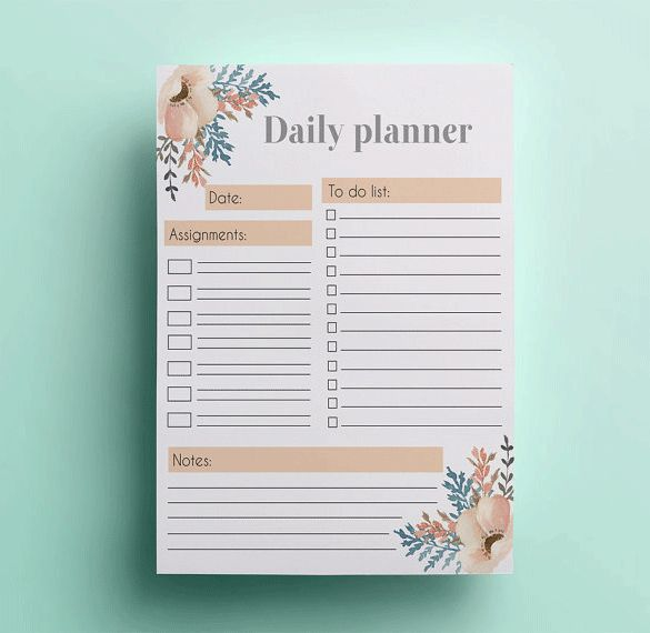 The 25 best Daily schedule template ideas on Pinterest Daily