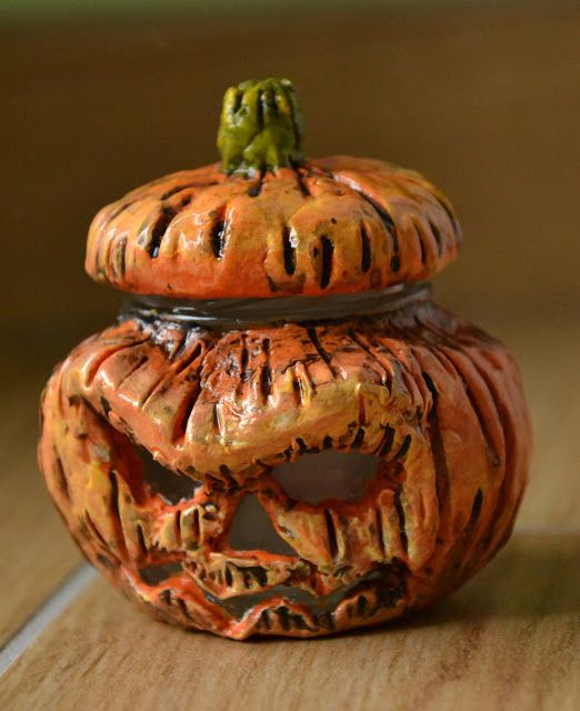 Creativity of Fià: Pumpkin jar