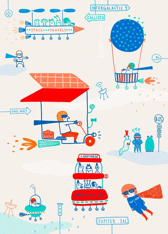 Space Jam by Joanna Wiejak - L'Affiche Moderne