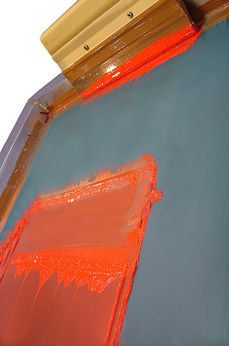 Screen Printing is a very old process originating from China and was introduced to Western Europe sometime in the late 1700's. Screen Printing was originally used as a popular method to print expensive wall paper and look what it can do today!