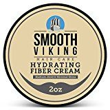 Hair Styling Fiber for Men  Best Pliable Molding Product with Medium Hold & Minimal Shine  For Modern Hairstyles  Thickens Texturizes & Increases Fullness in Thinning Hair  2 OZ  Smooth Viking