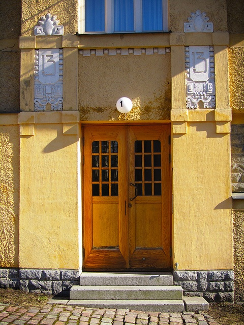 Entrance, Eira, Helsinki by Aarni Heiskanen, via Flickr