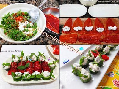Davet ve Ozel Sofralara Meze Salatalar | Yemek Tarifleri