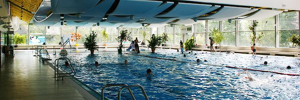 Hallenbad Groß-Gerau  This is where I learned to swim