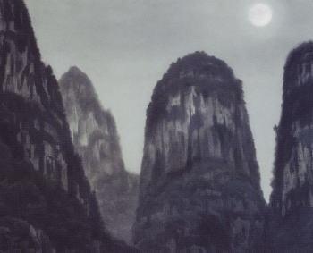 東山魁夷 桂林月夜 1976年