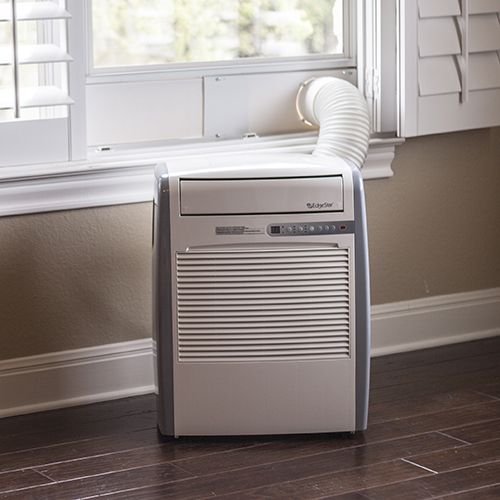 Tiny House AC...for up to 250 ft.....EdgeStar Ultra Compact 8,000 BTU Portable Air Conditioner with 50 Pint Dehumidifier Function