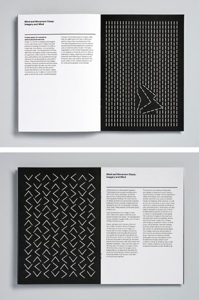Magpie Studio – Mind and Movement, typographical design for Wayne McGregor's 'choreographic toolkit'