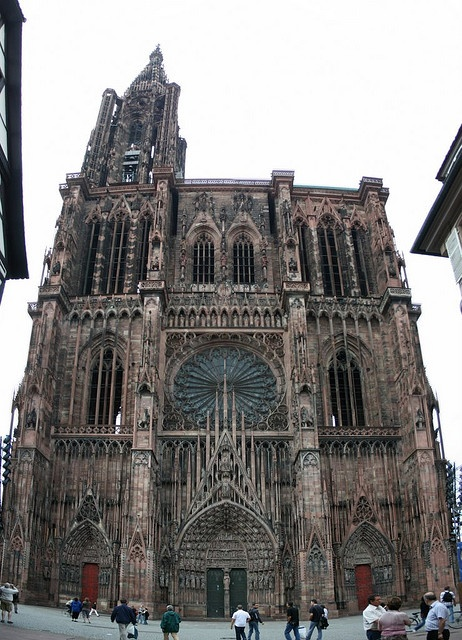 Cathedral in Strasburg, Germany.  Sooo gloriously gorgeous on the inside!
