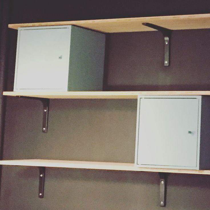 25 parasta ideaa pinterestiss equerre etagere equerre pour etagere equerre murale ja. Black Bedroom Furniture Sets. Home Design Ideas