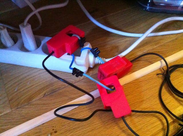 My E-Life Now !: Testing Wattson Transmitter to make it work for the US & Canada Split Phase Consumer Units